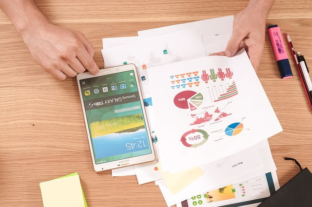 online marketing paper etc