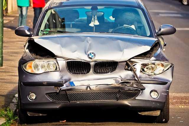 Old BMW car