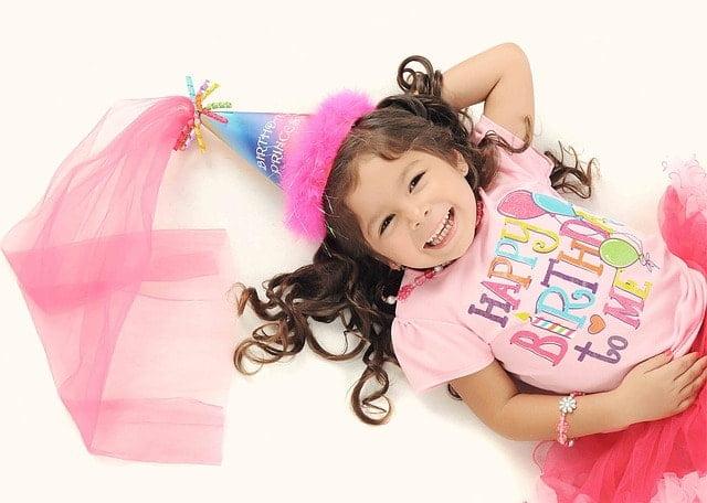 Birthday girl photograph
