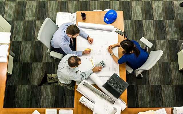 Photo of people sitting in meeting