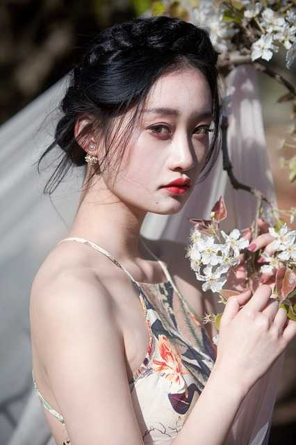 Bridal with flower