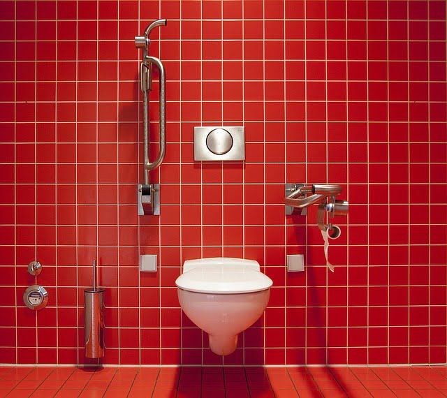 Image of clean toilet