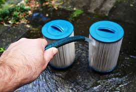 Rinsing with garden hosepipe