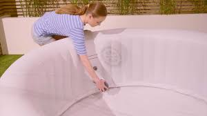 Placing filter in a tub