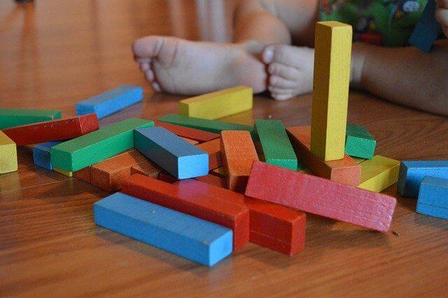 colourful educational toys